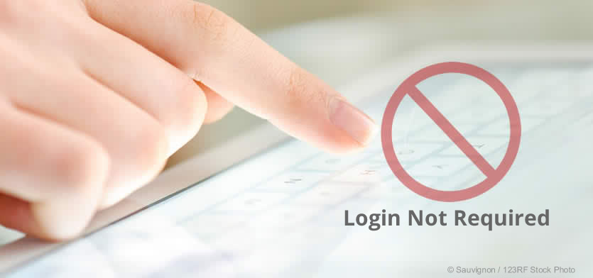 login not required at GRASP